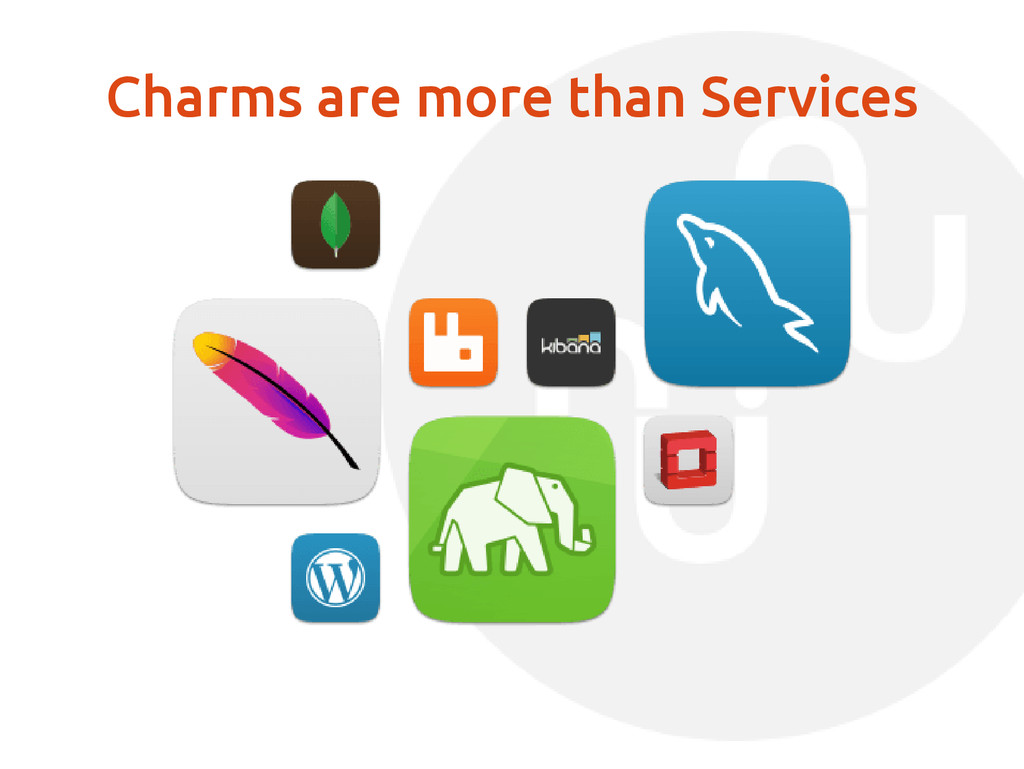 Charms are more than Services