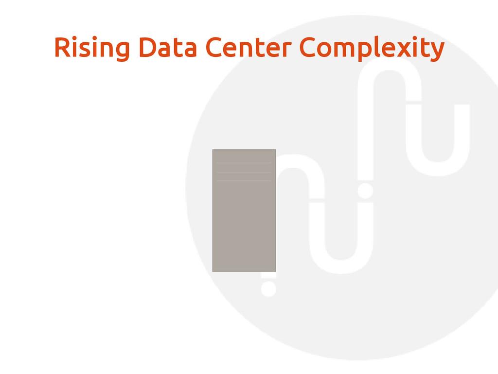 Rising Data Center Complexity