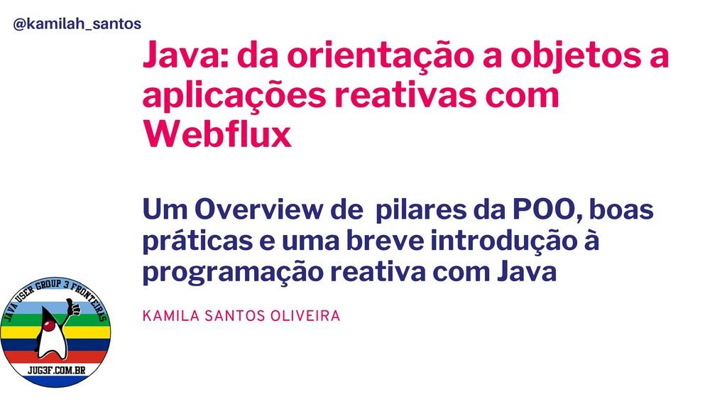 Java: da orientação a objetos a aplicações reat...