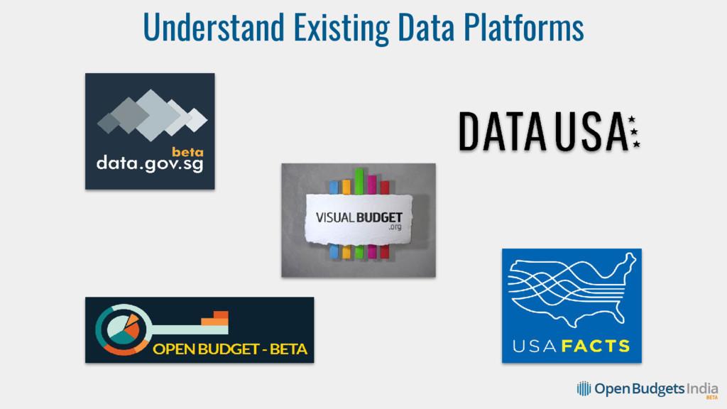 Understand Existing Data Platforms