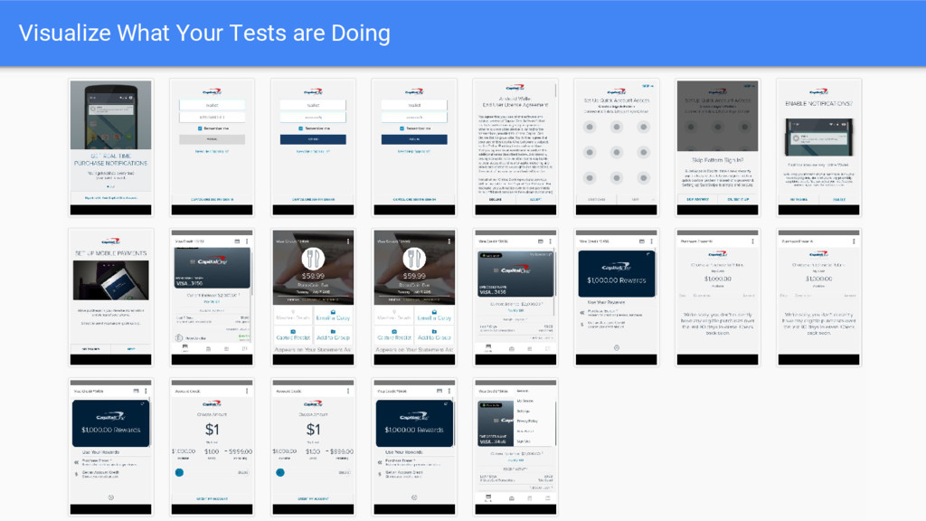 Visualize What Your Tests are Doing