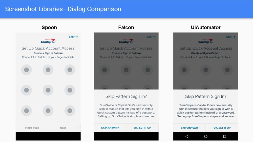 Screenshot Libraries - Dialog Comparison UiAuto...