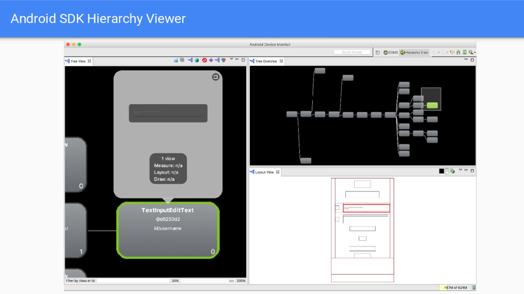 Android SDK Hierarchy Viewer