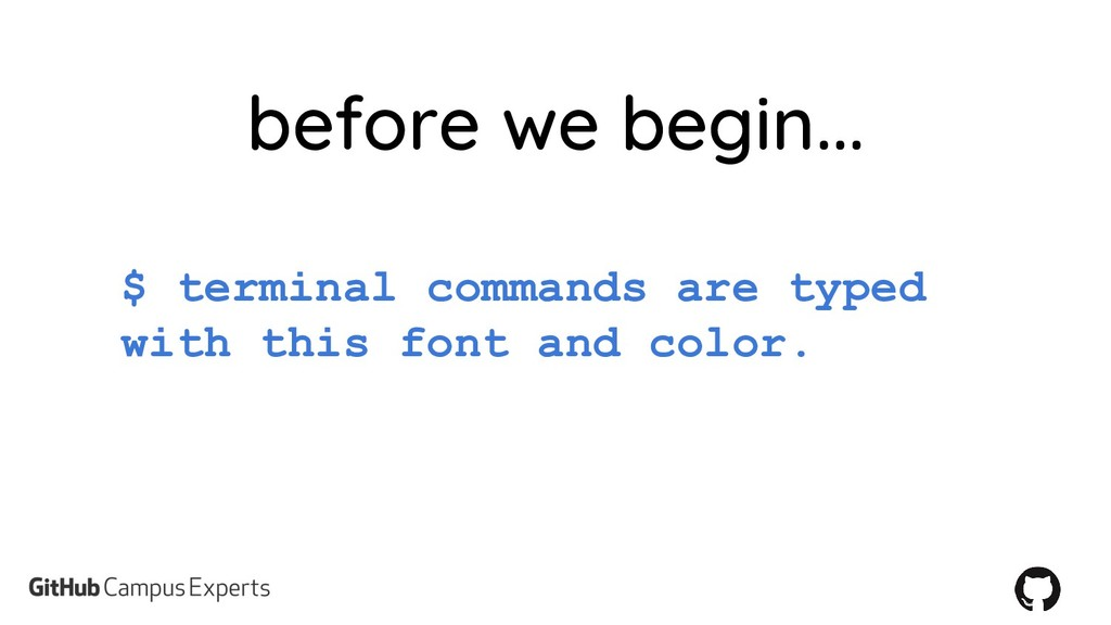 $ terminal commands are typed with this font an...