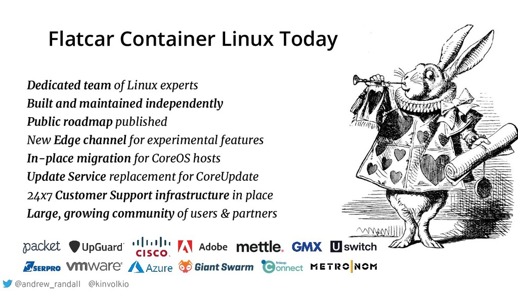 Dedicated team of Linux experts Built and maint...