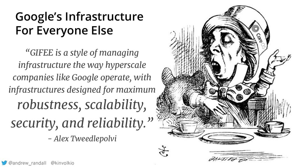 """""""GIFEE is a style of managing infrastructure th..."""