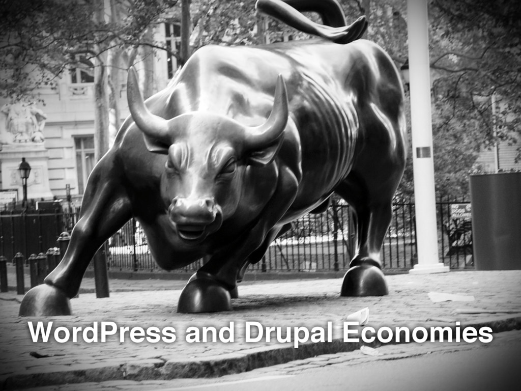 WordPress and Drupal Economies