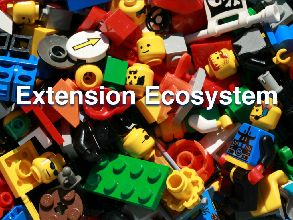 Extension Ecosystem