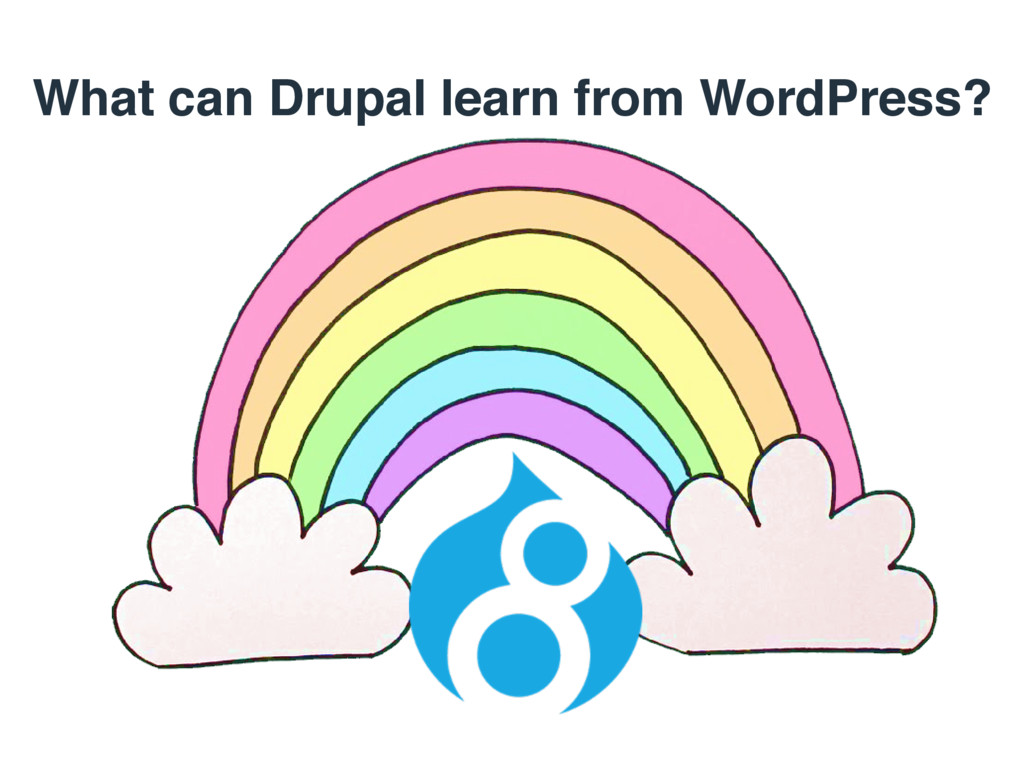 What can Drupal learn from WordPress?