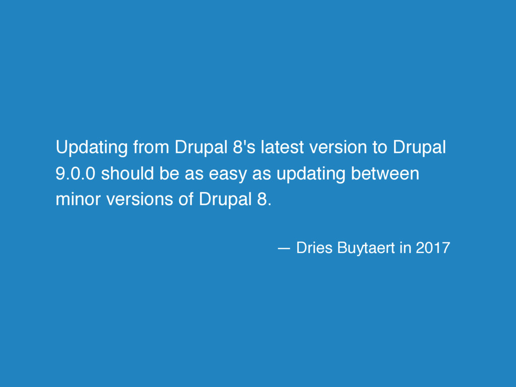 Updating from Drupal 8's latest version to Drup...