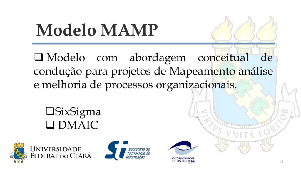Modelo MAMP  Modelo com abordagem conceitual d...