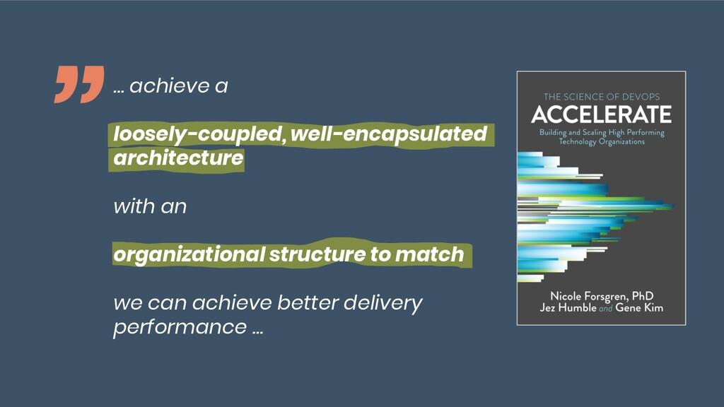 """@maschmiddy """" … achieve a loosely-coupled, well..."""