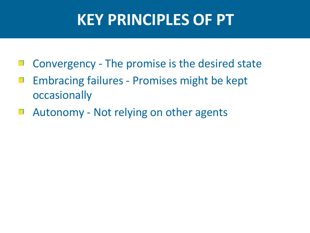 KEY PRINCIPLES OF PT Convergency - The promise ...