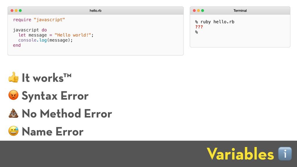 """require """"javascript"""" javascript do let message ..."""
