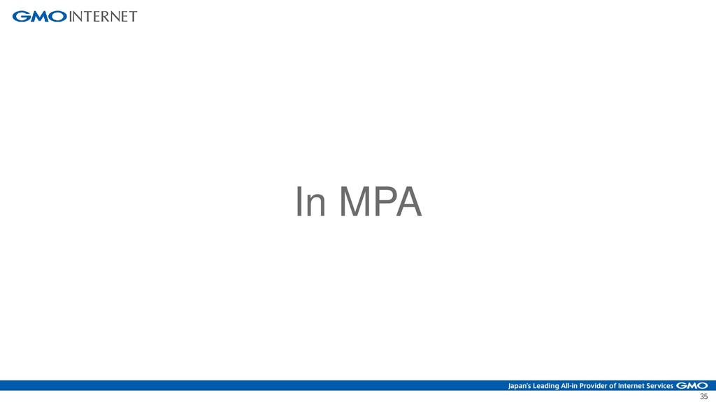 35 In MPA