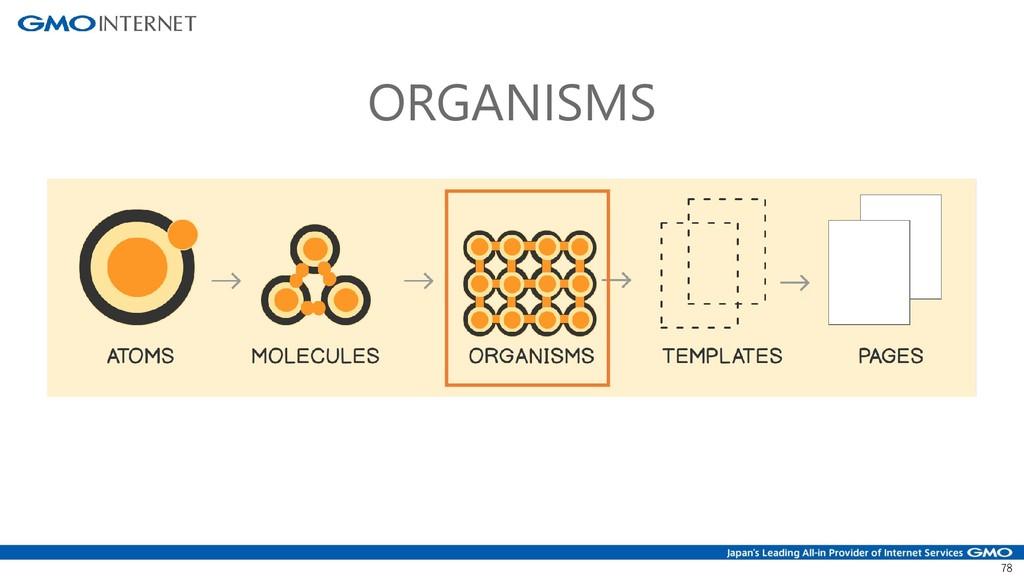 78 ORGANISMS