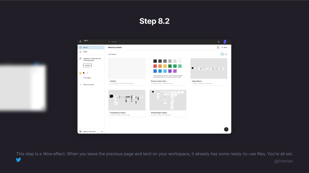Step 8.2 This step is a Wow effect. When you le...