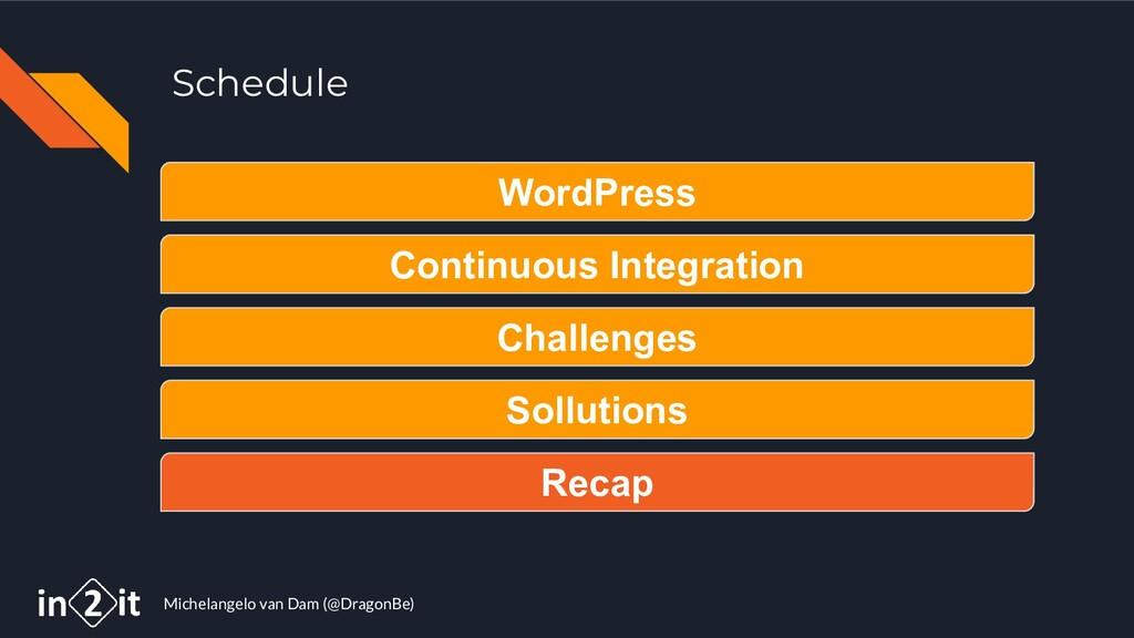 Michelangelo van Dam (@DragonBe) Schedule WordP...