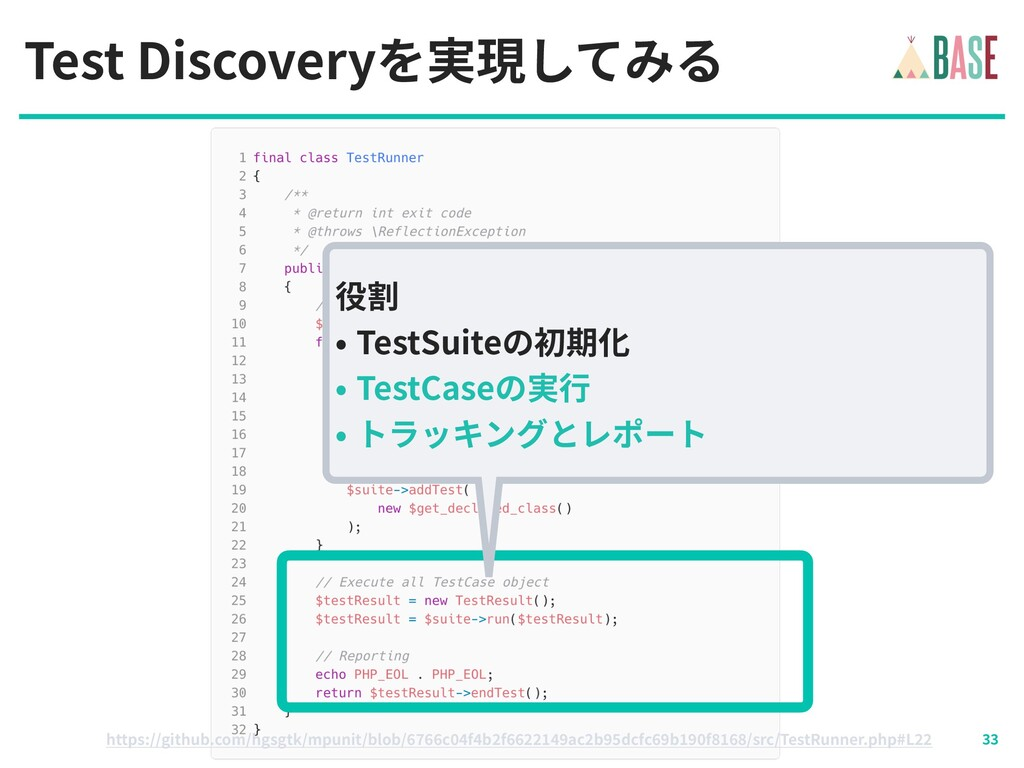 © - BASE, Inc. Test Discoveryを実現してみる https://gi...