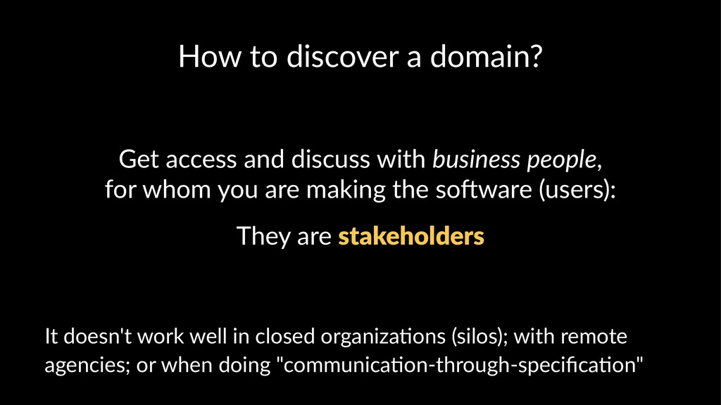 How to discover a domain? Get access and discus...