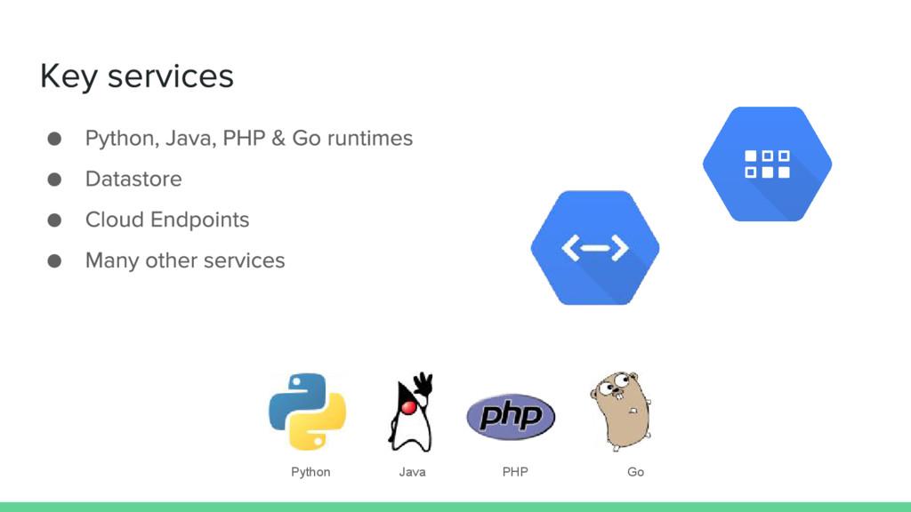 Java PHP Go Python