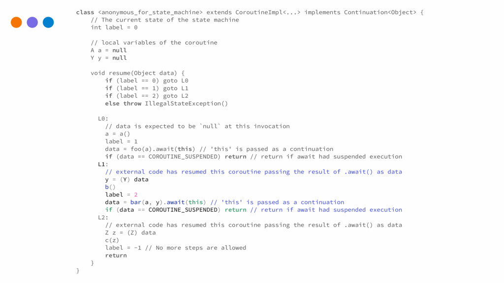 class <anonymous_for_state_machine> extends Cor...