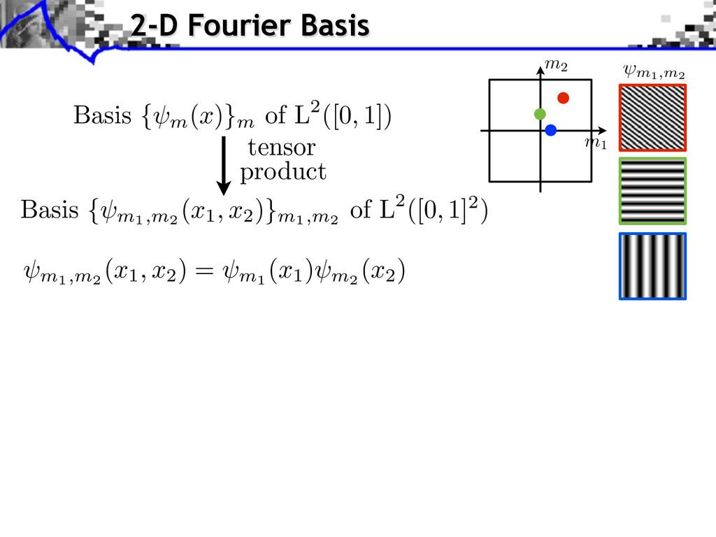 m1,m2 Basis { m1,m2 (x1, x2 )}m1,m2 of L2([0, 1...