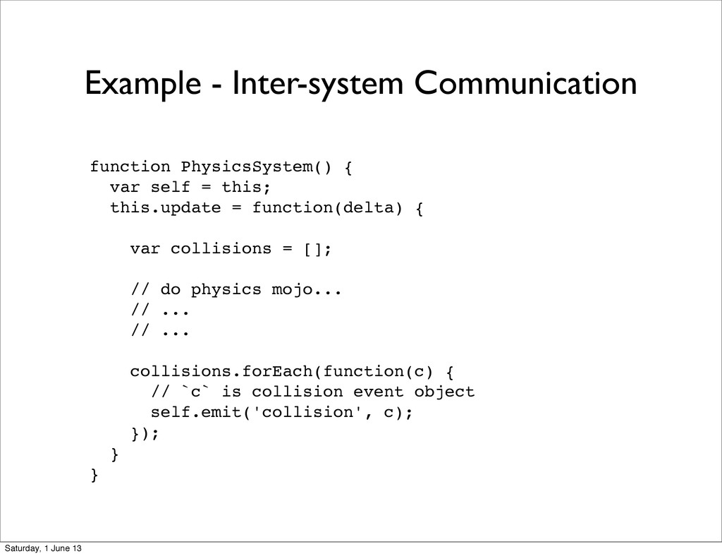 Example - Inter-system Communication function P...