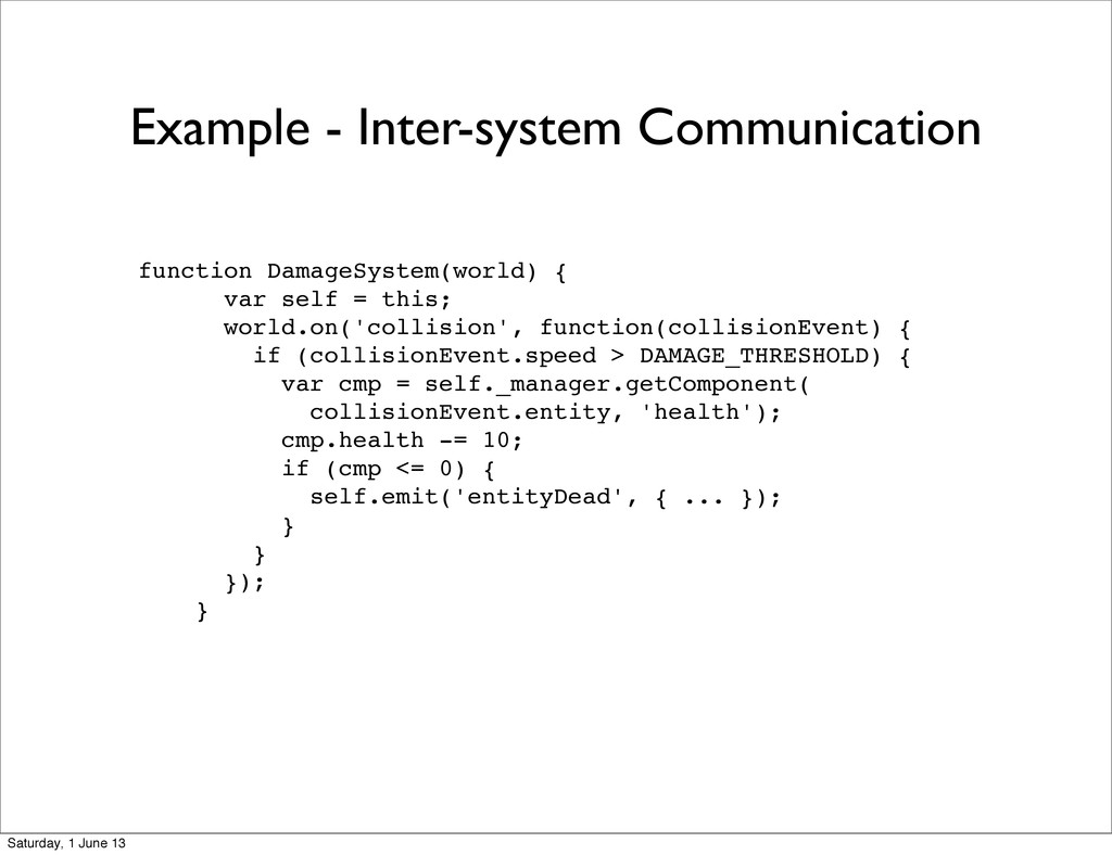 Example - Inter-system Communication function D...