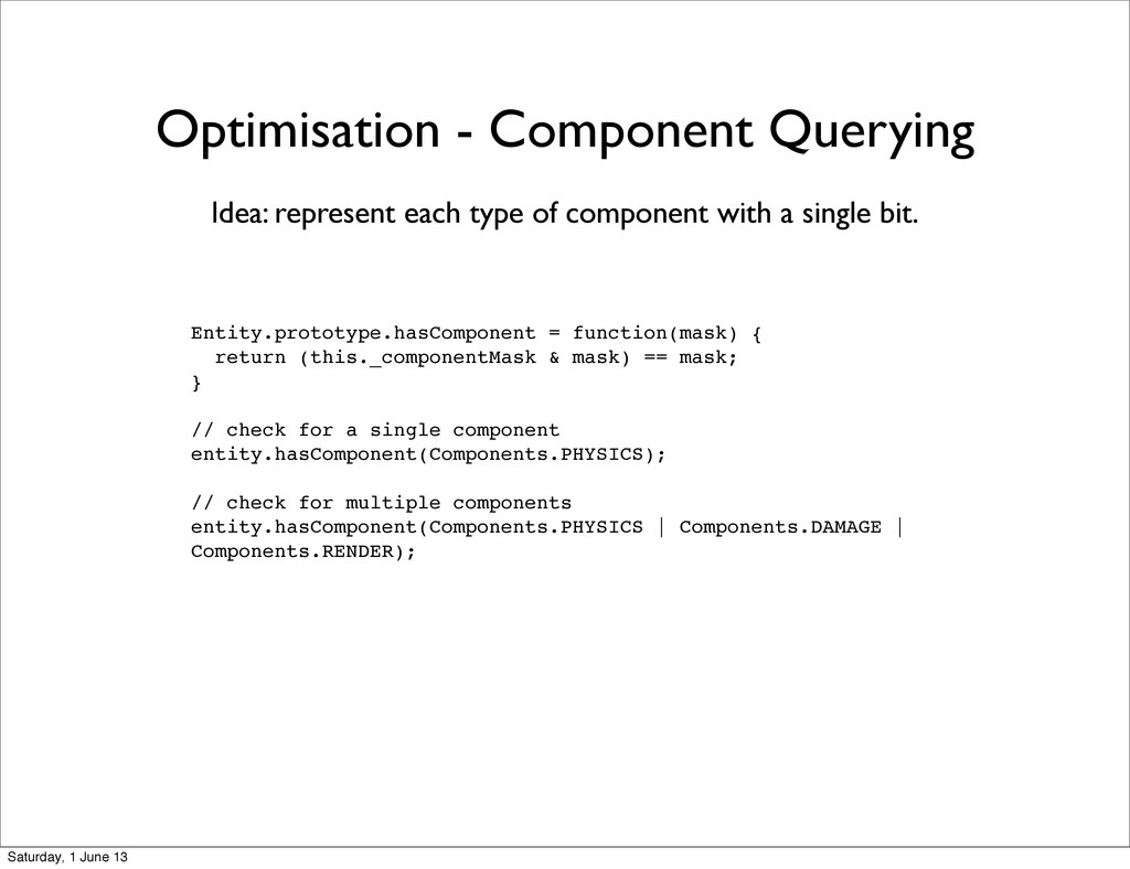 Optimisation - Component Querying Entity.protot...