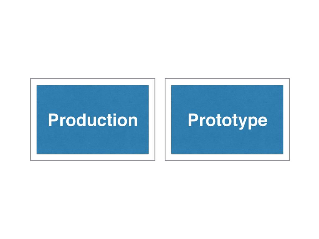 Production Prototype