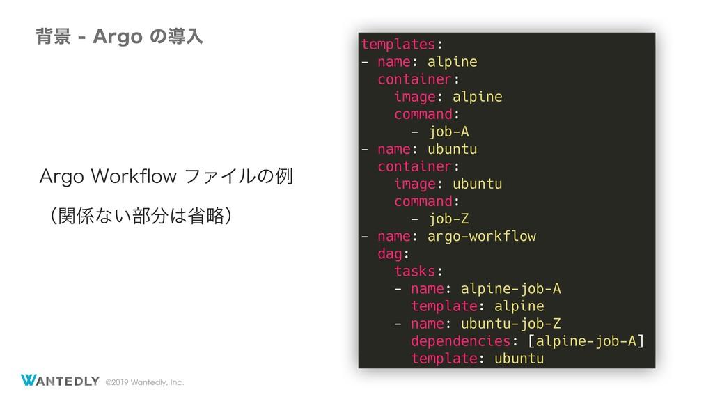 "©2019 Wantedly, Inc. എܠ""SHPͷಋೖ templates: -..."