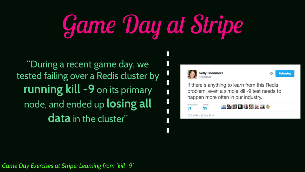 "Game Day at Stripe ""During a recent game day, w..."