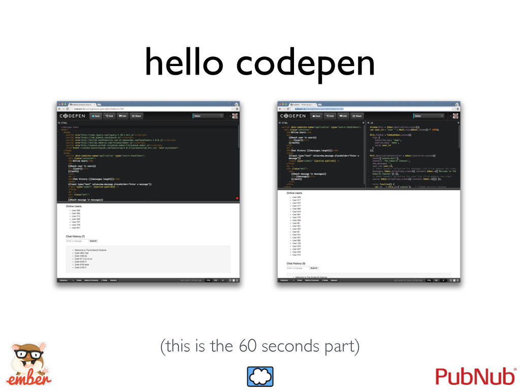 hello codepen (this is the 60 seconds part)