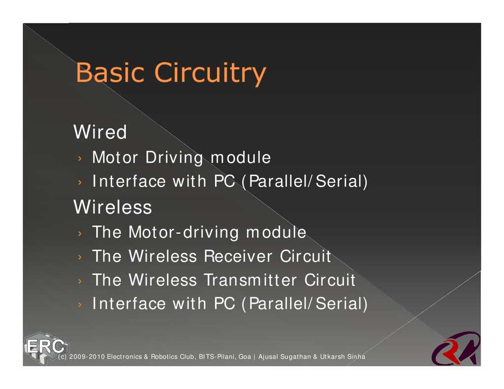ž Wired › Motor Driving module › Interface with...