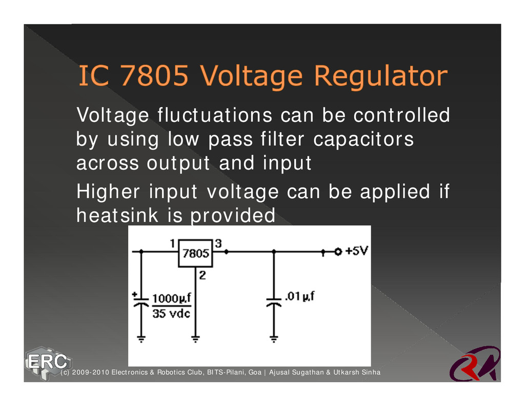 ž Voltage fluctuations can be controlled by usi...