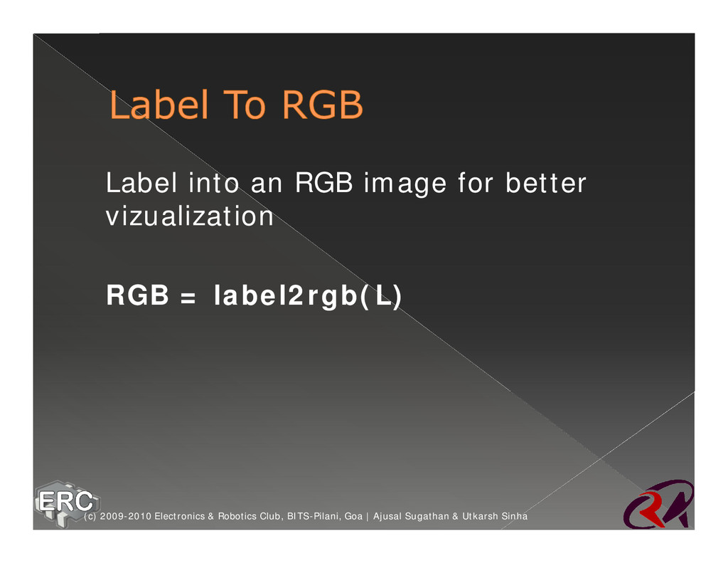 ž Label into an RGB image for better vizualizat...