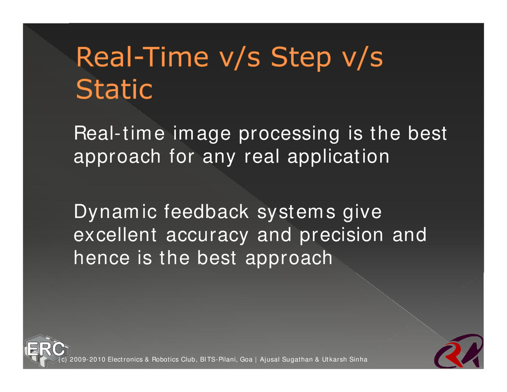 ž Real-time image processing is the best approa...