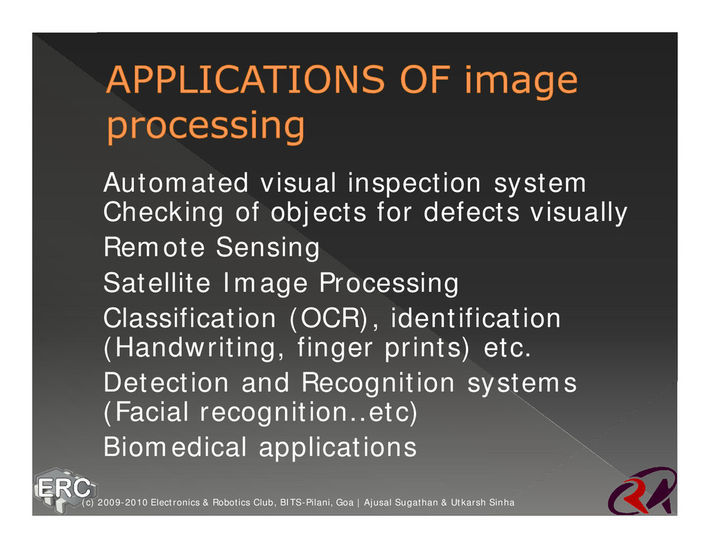 ž Automated visual inspection system Checking o...