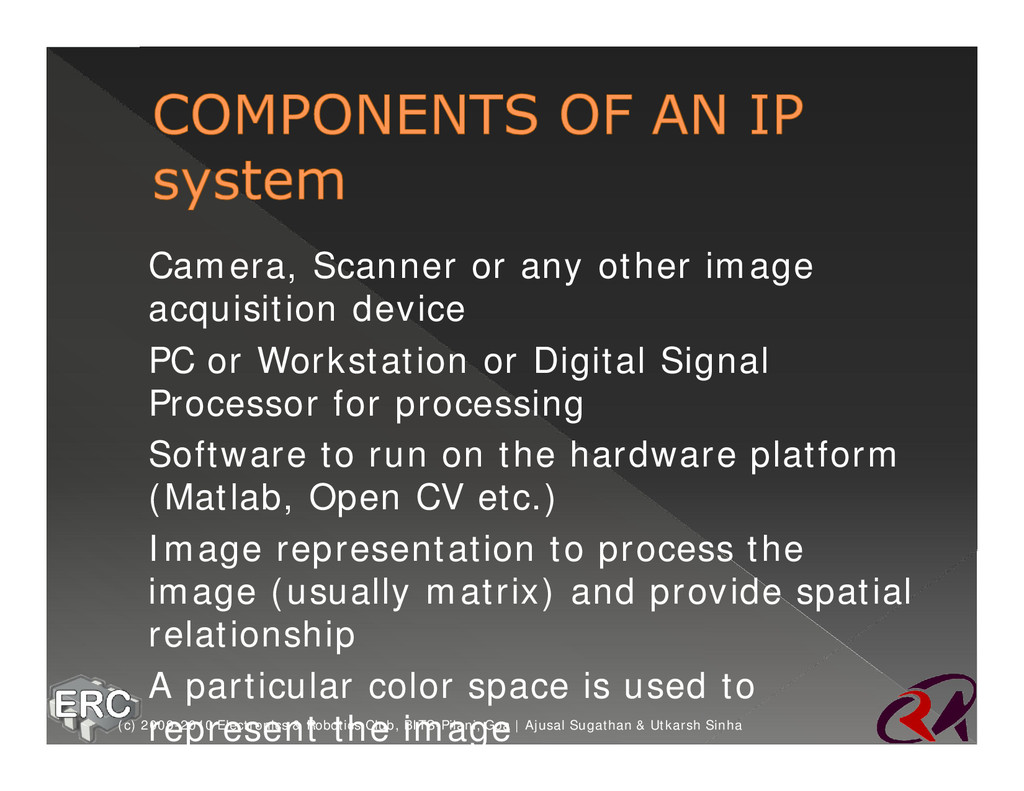 ž Camera, Scanner or any other image acquisitio...