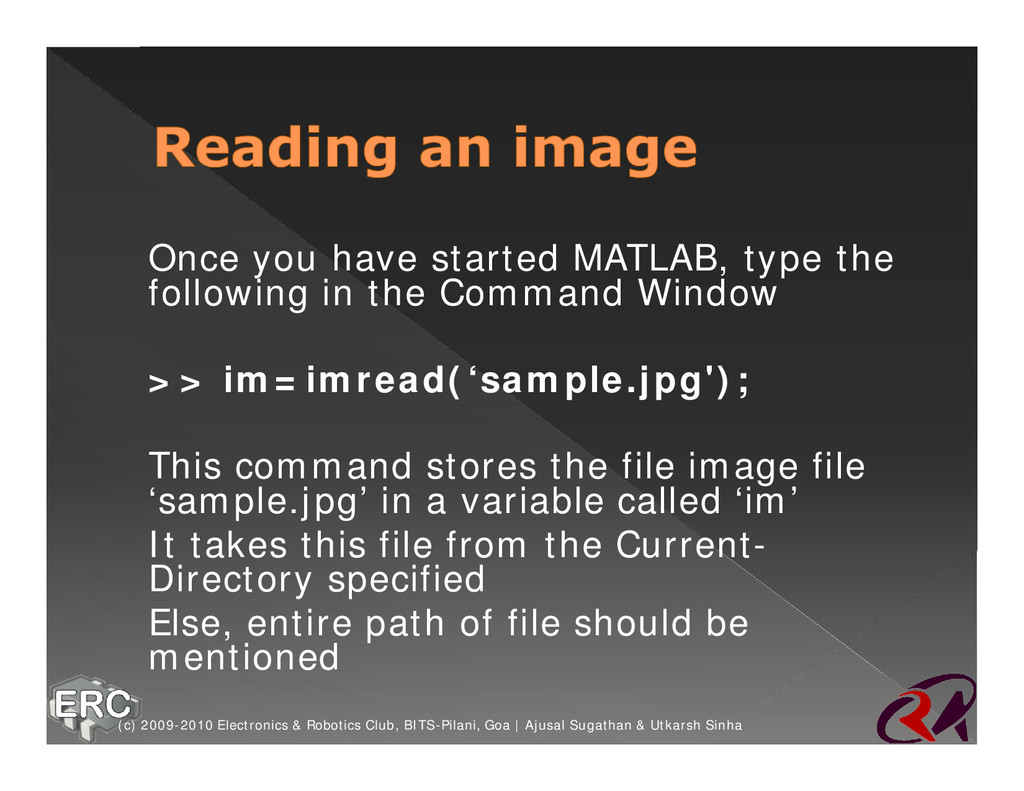 ž Once you have started MATLAB, type the follow...