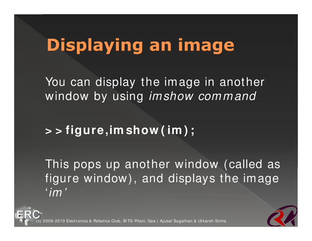 ž You can display the image in another window b...