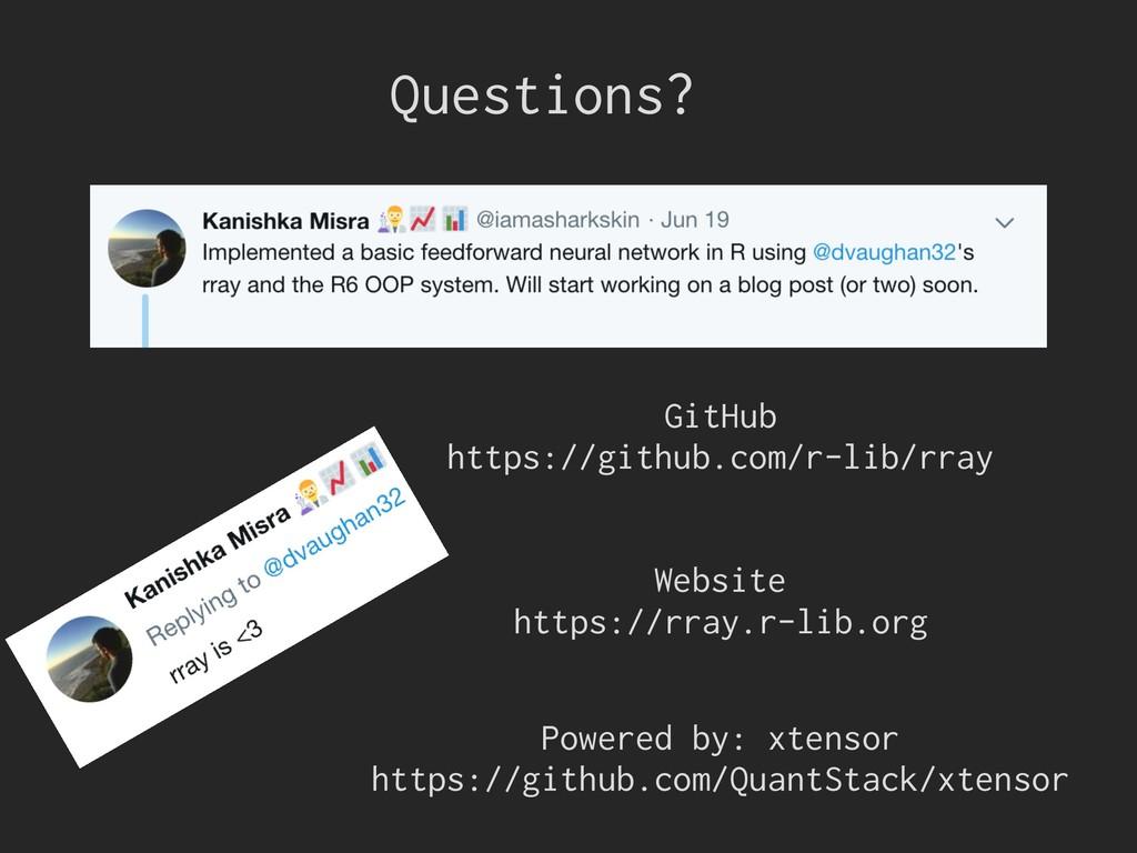 GitHub https://github.com/r-lib/rray Website ht...