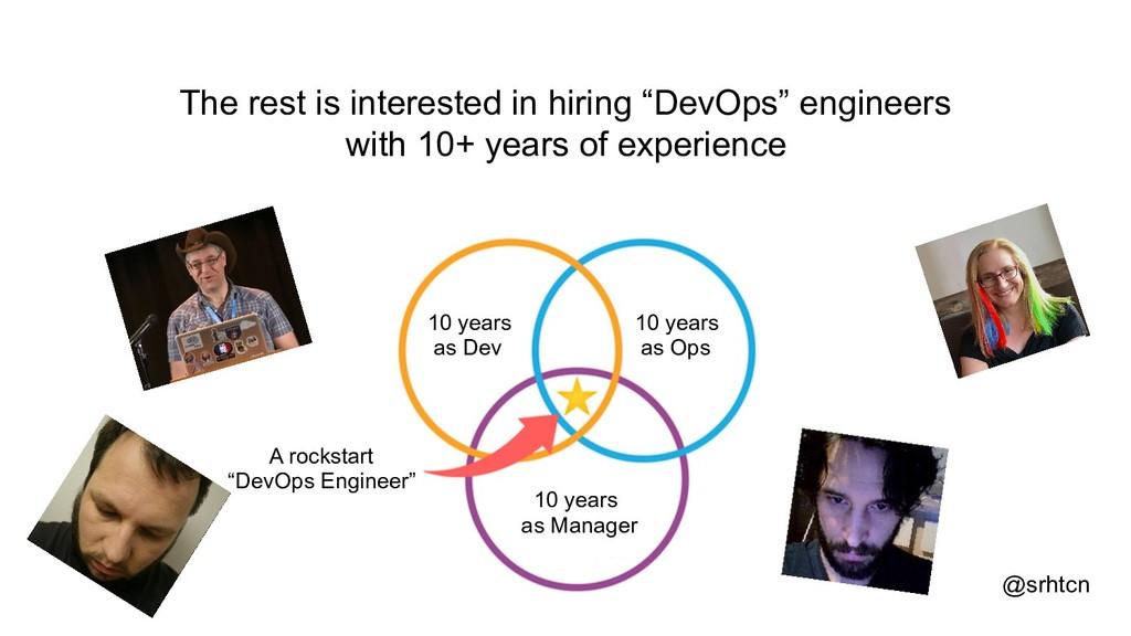 """@srhtcn The rest is interested in hiring """"DevOp..."""
