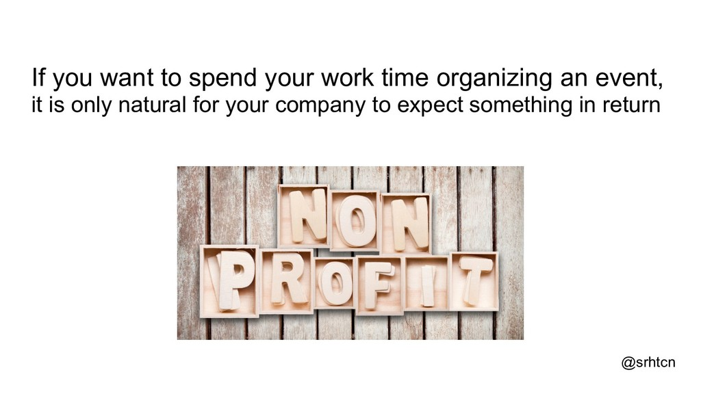 @srhtcn If you want to spend your work time org...
