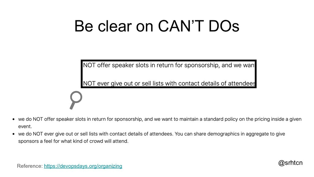 @srhtcn Be clear on CAN'T DOs Reference: https:...
