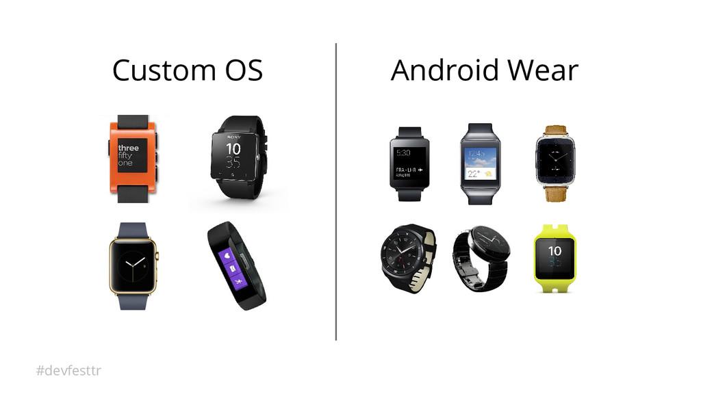 #devfesttr Custom OS Android Wear