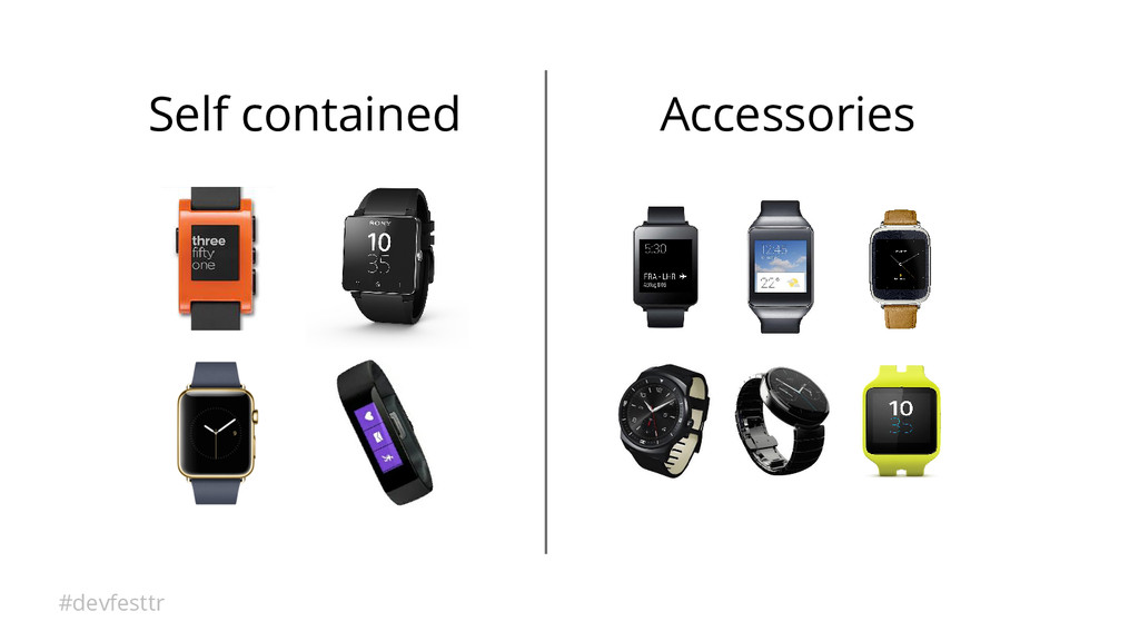 #devfesttr Self contained Accessories