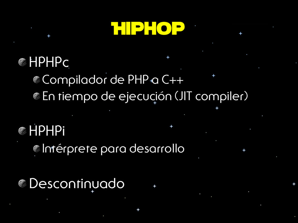 Hiphop HPHPc Compilador de PHP a C++ En tiempo...