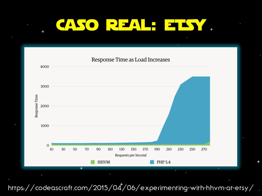 Caso real: etSy https://codeascraft.com/2015/04...